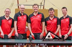 Tischtennis 1. Mannschaft TSV Aue-Wingeshausen