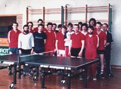 TSV Aue Wingeshausen Abteilung Anfang der 80er Jahre