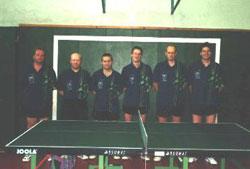 TSV Aue Wingeshausen Aufsteiger in die Bezirksklasse Siegerland 2000/01 und Mannschaft des Jahres des TSV