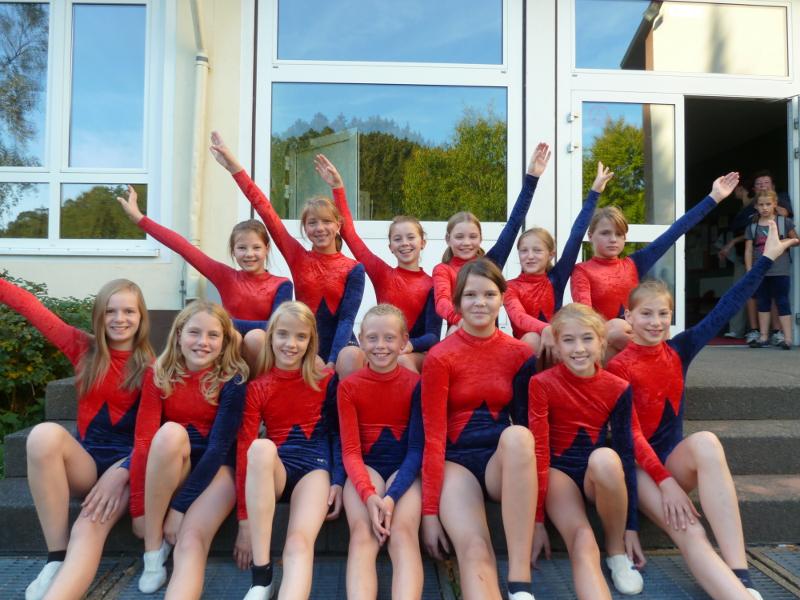 TSV Aue Wingeshausen Kinderturnen Jugendgruppe