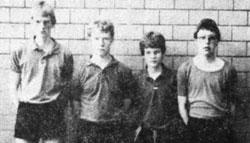 TSV Aue Wingeshausen Jugendmannschaft 1987/88, Vizemeister in der Jugend-Bezirksliga