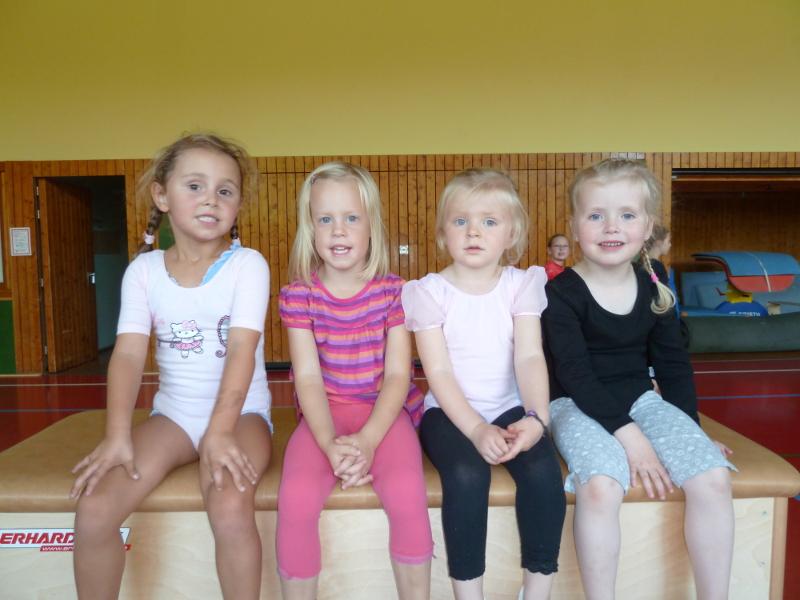 TSV Aue Wingeshausen Kinderturnen Kindergartengruppe