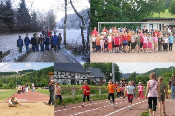 TSV Aue Wingeshausen Leichtathletik Kinder und Jugendabteilung